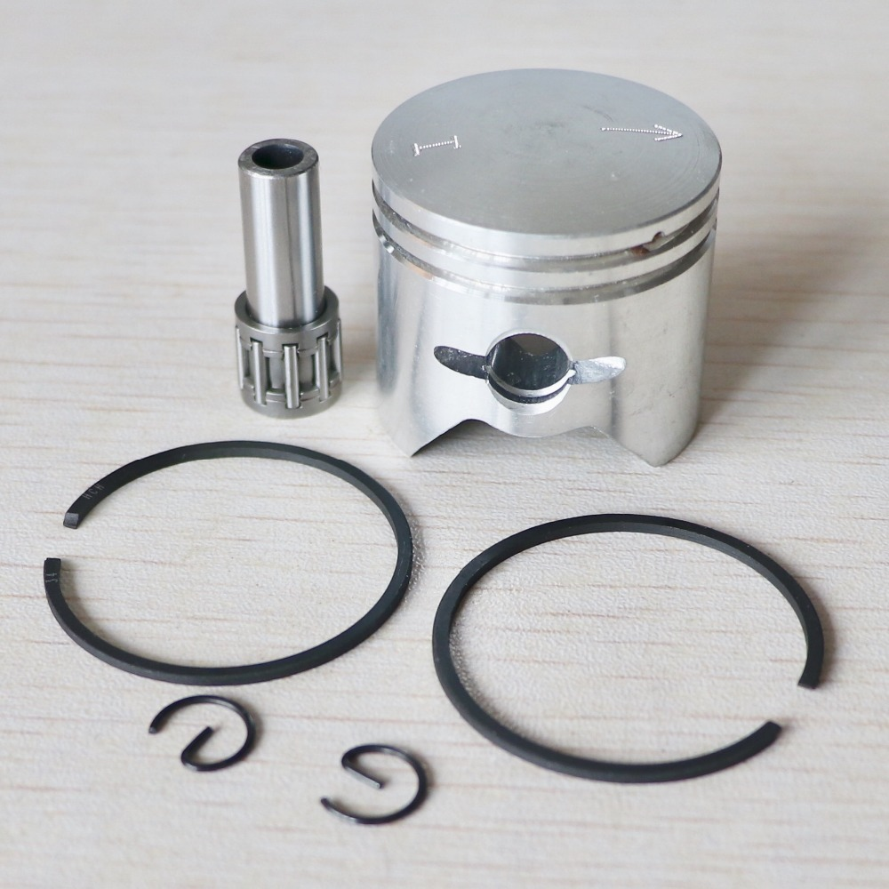 BC260 CG260 Brush Cutter Piston With Needle Bearing Assembly Kit (34mm) Fit For 26cc Grass Trimmer Cylinder Parts