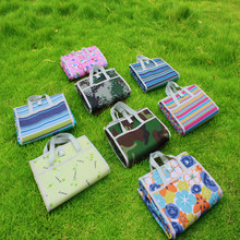 Oxford Cloth Portable Outdoor Picnic Mat Bag Camping Waterproof Moisture-proof beach Fashion Multi-color Optional