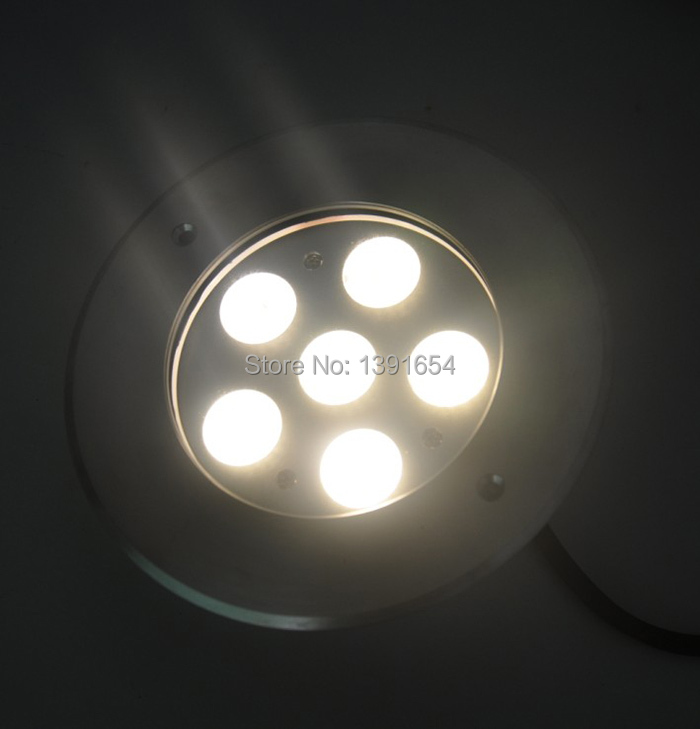 AC110 240V 18W Outdoor Underground Light IP67 Inground LED Light Recessed Concret Lamp Stainless steel 316 Cover 4pcs/lot