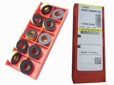 New 50PCS Round RCMT1606MD-R3 CNC Mill Carbide Insert CNC Milling cutter Insert цена и фото