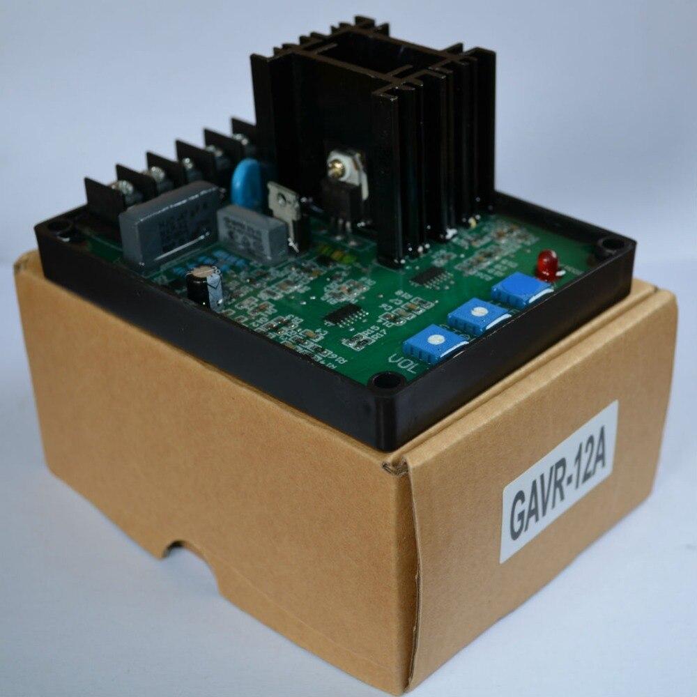 GAVR-8A/12A/15A/20A Generator Automatic Voltage Regulator Module Universal AVR Generator Well Working