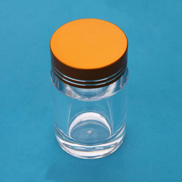 free shipping 30ml high-grade transparent PS empty medicine bottle,health care products bottles with silver/golden lid 1000mg 100 pcs fish oil bottle for health capsules omega 3 dha epa with free shipping
