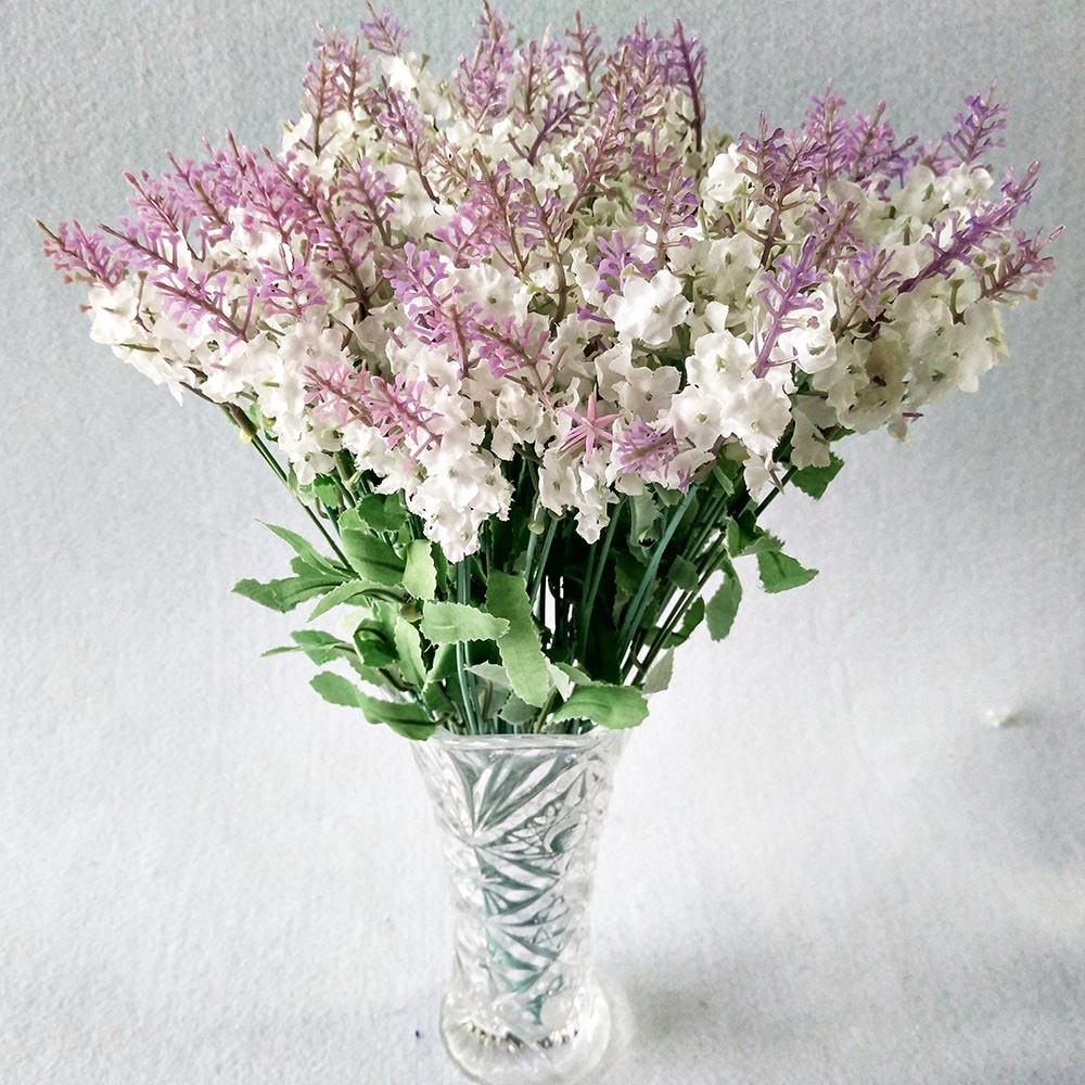 Wholesale 50pcs Light Purple Lavender High Quality Artificial Silk