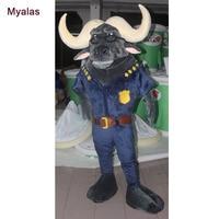Новый Дизайн Маскоты костюм быка и коровы Хеллоуин костюм настроить для взрослых Маскоты Костюм Аниме Косплэй характер Необычные платья