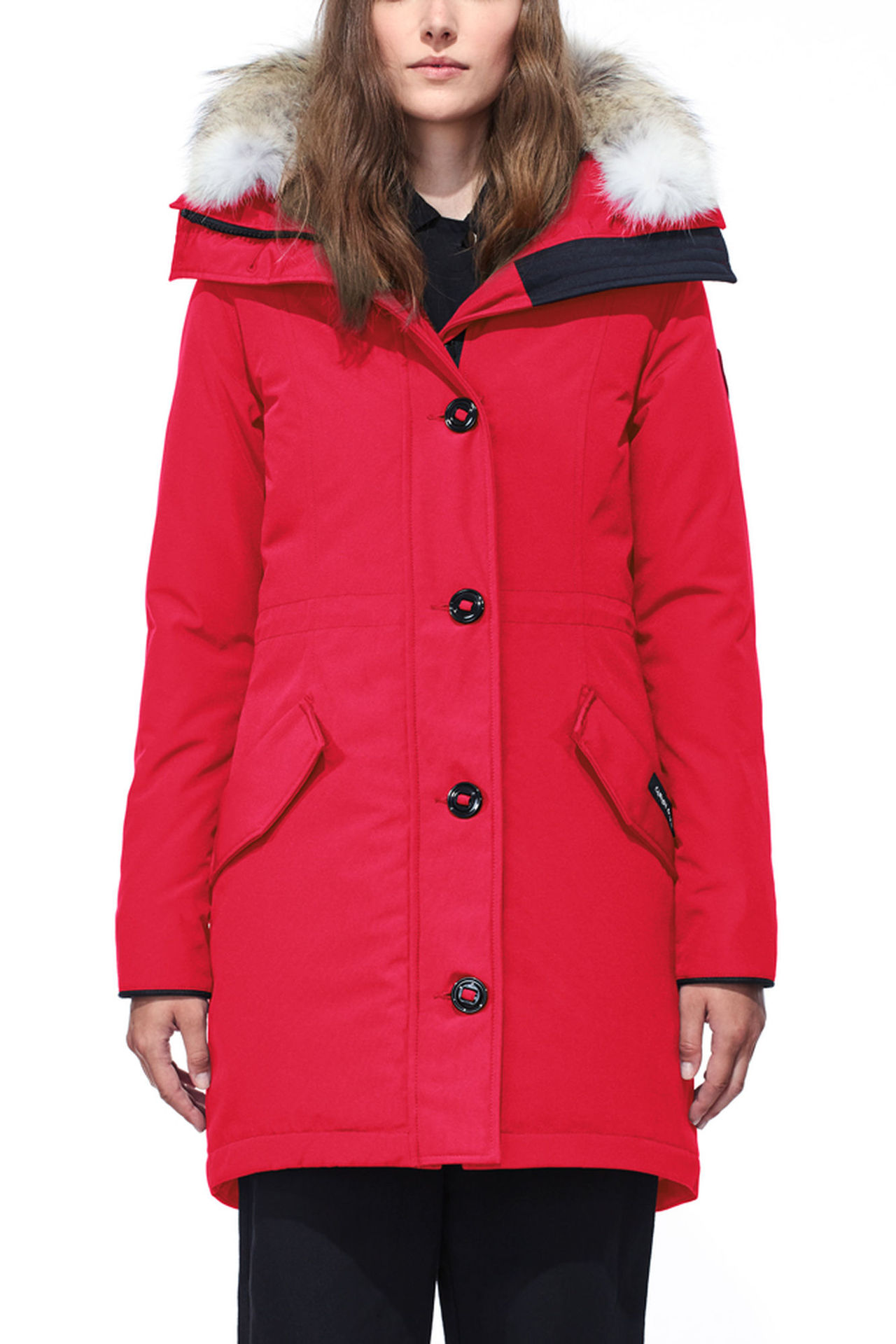 2017 New Goose Clothing Women Autumn Winter Parka Womens Long Jacket with Hat Detachable Warm Coat