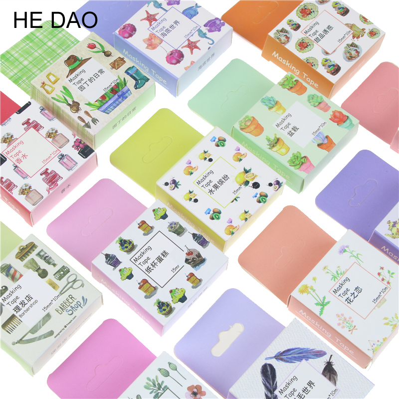 1.5cm Wide Luxuriant Flowers & Decorations Washi Tape Adhesive Tape Diy Scrapbooking Sticker Label Masking Tape 1 5cm wide simple geometry washi tape adhesive tape diy scrapbooking sticker label masking tape