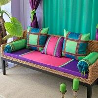 Customized Sofa Cushion Southeast Exotic Window Windowsill Pad Sofa Cushion Pad