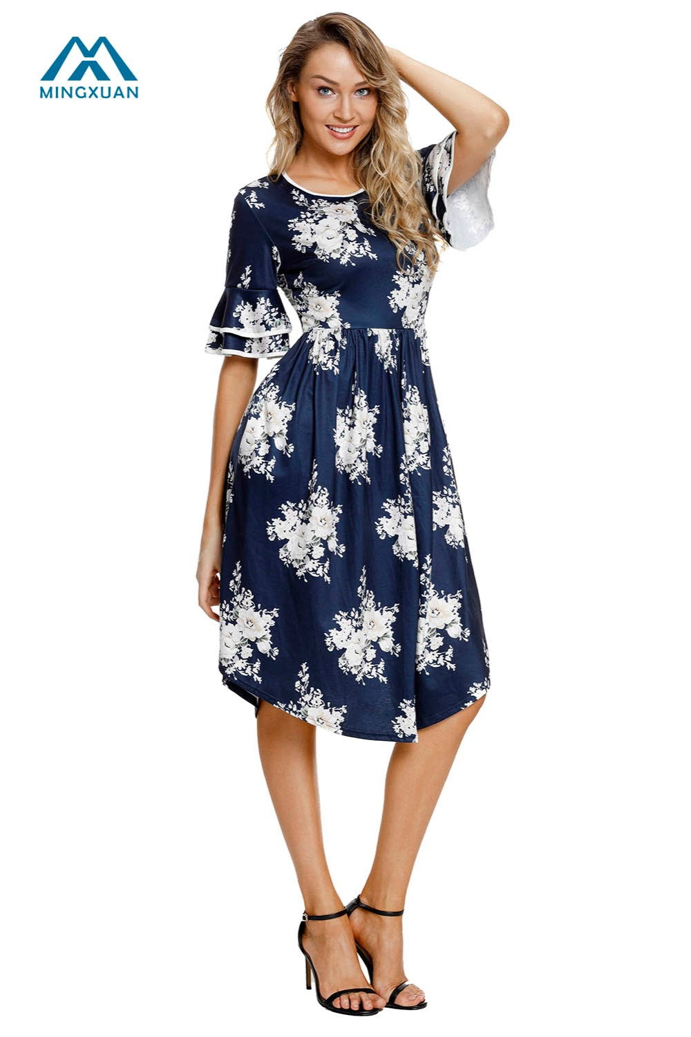 4d36c8ca25e Cute Knee Length Summer Dresses
