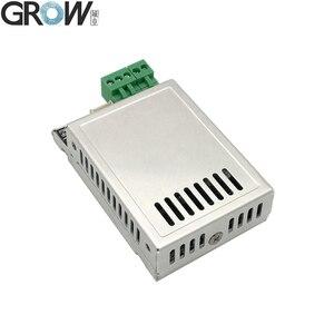 Image 2 - GROW K216 + R502 A mały cienki okrągły pierścień LED pojemnościowy kontrola dostępu za pomocą odcisków palców