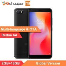 Stokta Orijinal Küresel Sürüm Xiaomi Redmi 6A 2 GB 16 GB 5.45