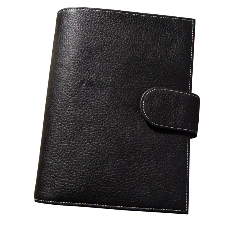 Image 5 - 2019 Travel Journal Leather Notebook with Ring Binder Best Gift For Men Women Personal Organisers Diary Planner To Write In A6-in Notebooks from Office & School Supplies