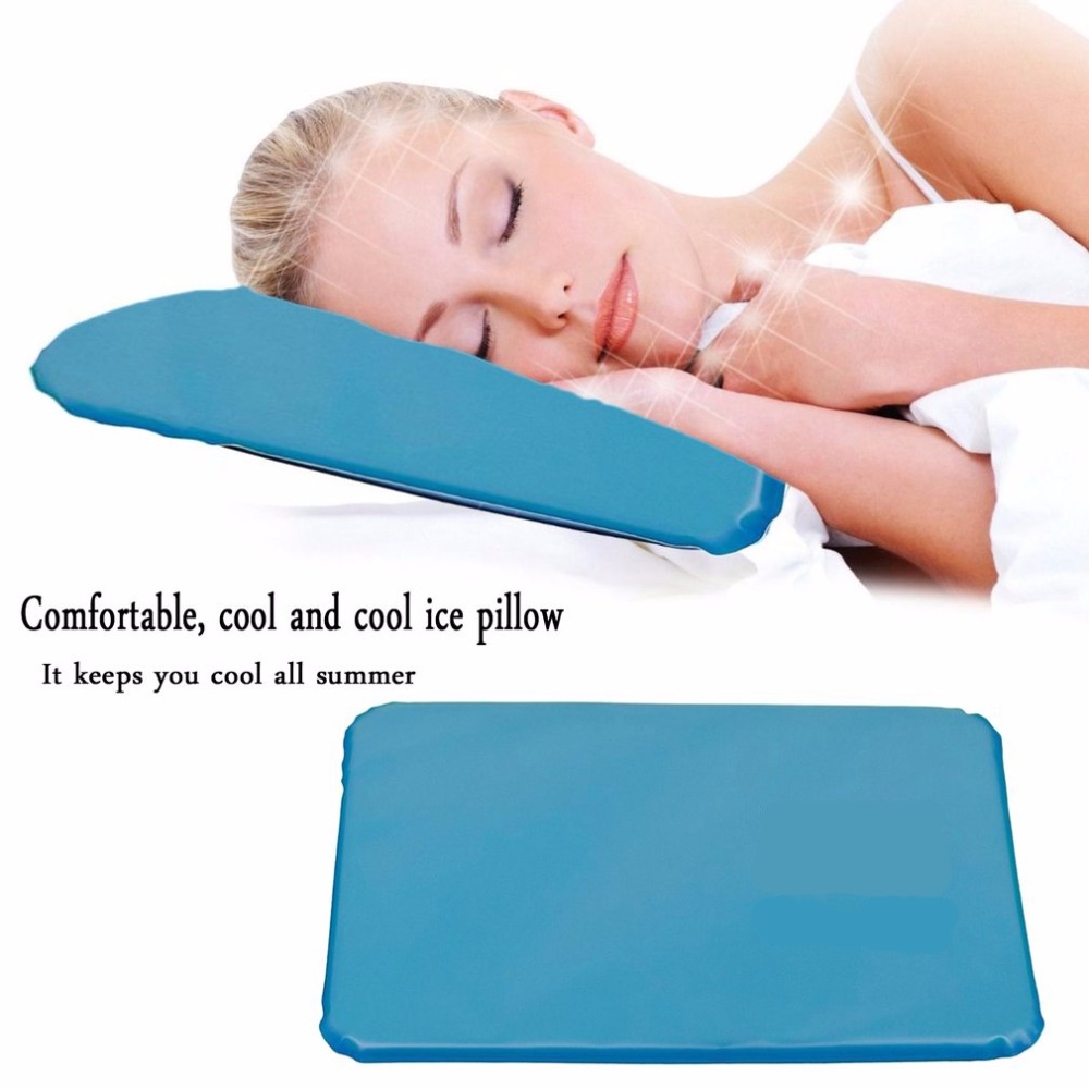 foam memory calm sleep pillow cool gel chill