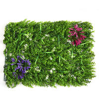 63 44cm Creative Artificial Lawn Plastic Green Grass Landscape Sod Square Eucalyptus Leaf Turf Shopping Mall