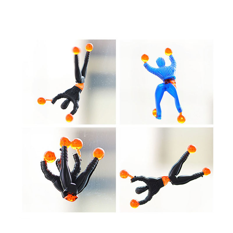 1PCS Sticky On Wall Climbing Tumbling Climber Men Party Kids Toys Birthday Gift For Children NGG04