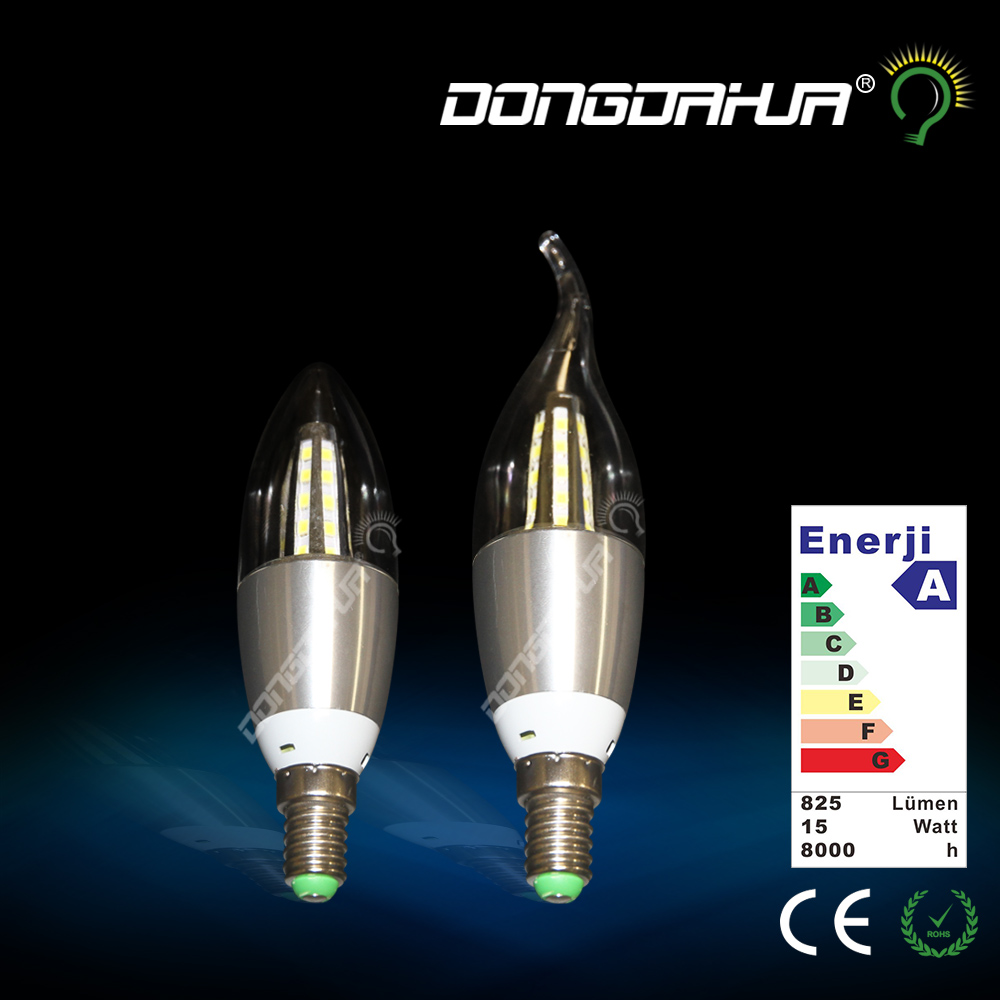 Led Bulb E14 SMD 2835 Energy Saving Lamp Led Candle Light 5W 7W AC85-265V candle Home Lighting Led Lamp E14 put the tail