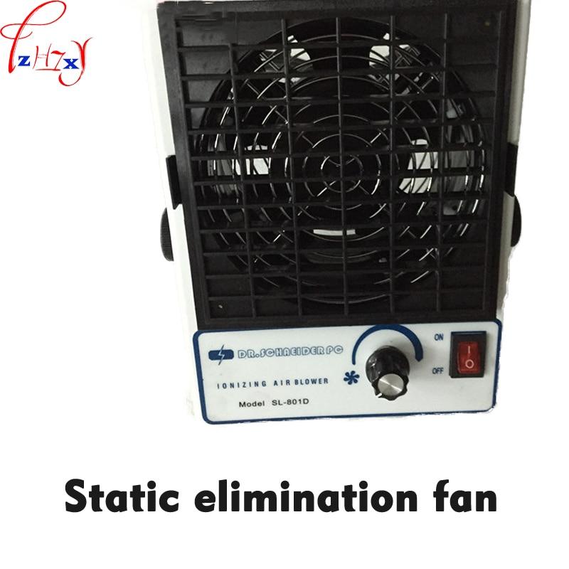 Table type DC ion fan SL-801D static elimination fan desktop DC Iionizing blower air Ionizer  110/220VTable type DC ion fan SL-801D static elimination fan desktop DC Iionizing blower air Ionizer  110/220V