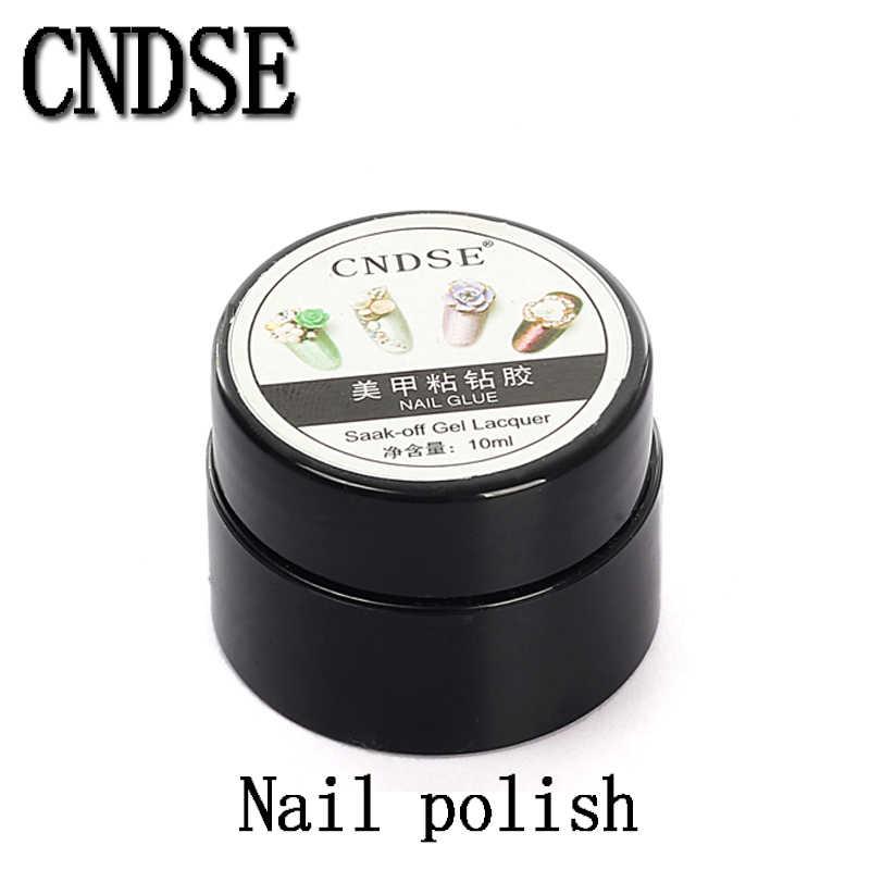 High Quality Price 10g BYB Nail Art Glue with Brush Paste False Nails Tips  Glitter UV b937f70a406f