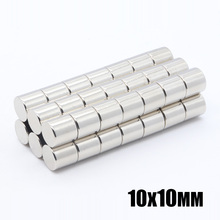 50pcs 10x10 mm Neodymium Disc Magnets  NdFeB 10x10 mm Super Strong Powerful Rare Earth 10mm x 10mm N35 Small Round Magnet