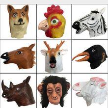 Απόκριες μάσκα μάσκα μάσκα άλογο μάσκα πλήρης κεφάλι μάσκα Απόκριες μάσκα ζώων κοστούμι παιχνίδια αστεία ενήλικο ζώο λατέξ μαστίχα