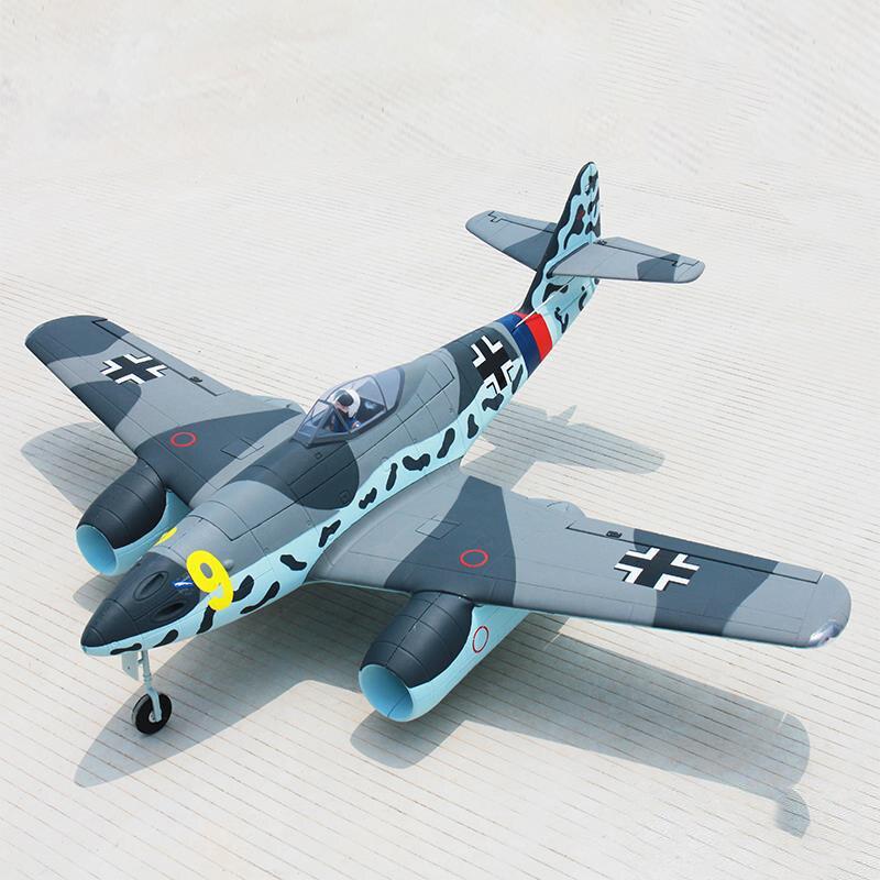 все цены на Dynam 1500MM ME-262 RC PNP/ARF Propeller Plane W/ Motor ESC Servos W/O Battery онлайн