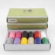 Швейная нить для ручных машин 12 цветов одна коробка материал