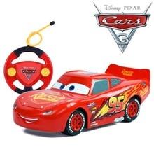 Disney pixar cars 2 3 ligtning mcqueen jackson cruz control rc 자동차 모델 어린이 선물 소년 소녀 어린이 장난감 xmas 라이센스