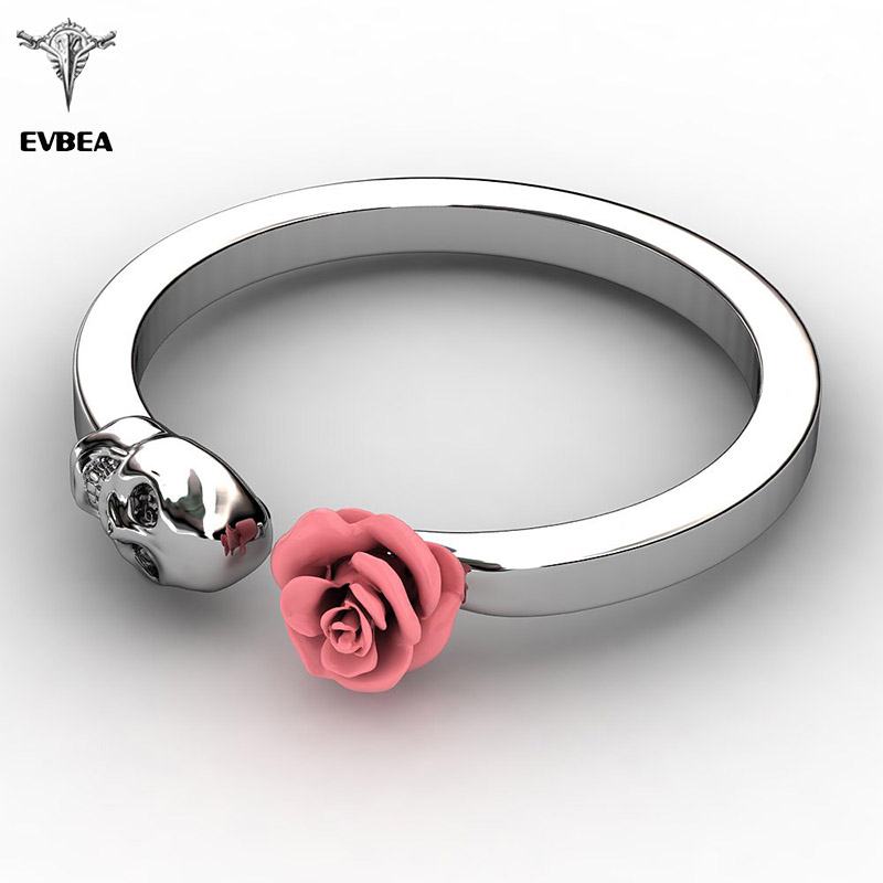 hand non held red tarnish rings sculpted buds within love two pin ring each roses are romantic an a as and approximately in wrap adjustable wire around cm rose