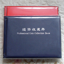 120 Grid/Unit Coins Collection Album Coin Storage Book Put Within 40mm Pockets Coins Collection Book Big Soviet Silver Dollar