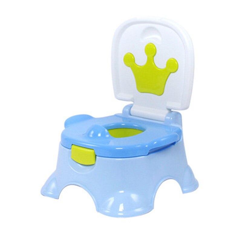 תינוק קריקטורה כתר אימון בסיר ילדה בני נסיעות נשיאה Urinal Pee מאמן Penico תינוקות ילדה משתנות אמבטיה