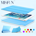 For Ipad Air 2 / Air 1 Magnetic Smart Case PU Leather Slim Cover Ultra Thin Fold Stand  PC Shell for Ipad Mini 1 2 3 Auto Sleep