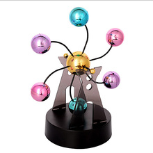 Creative Decision Maker Colorful Perpetual Electromagnetic Pendulum Dynamic Toy Gift Desk Decoration Educational Toys