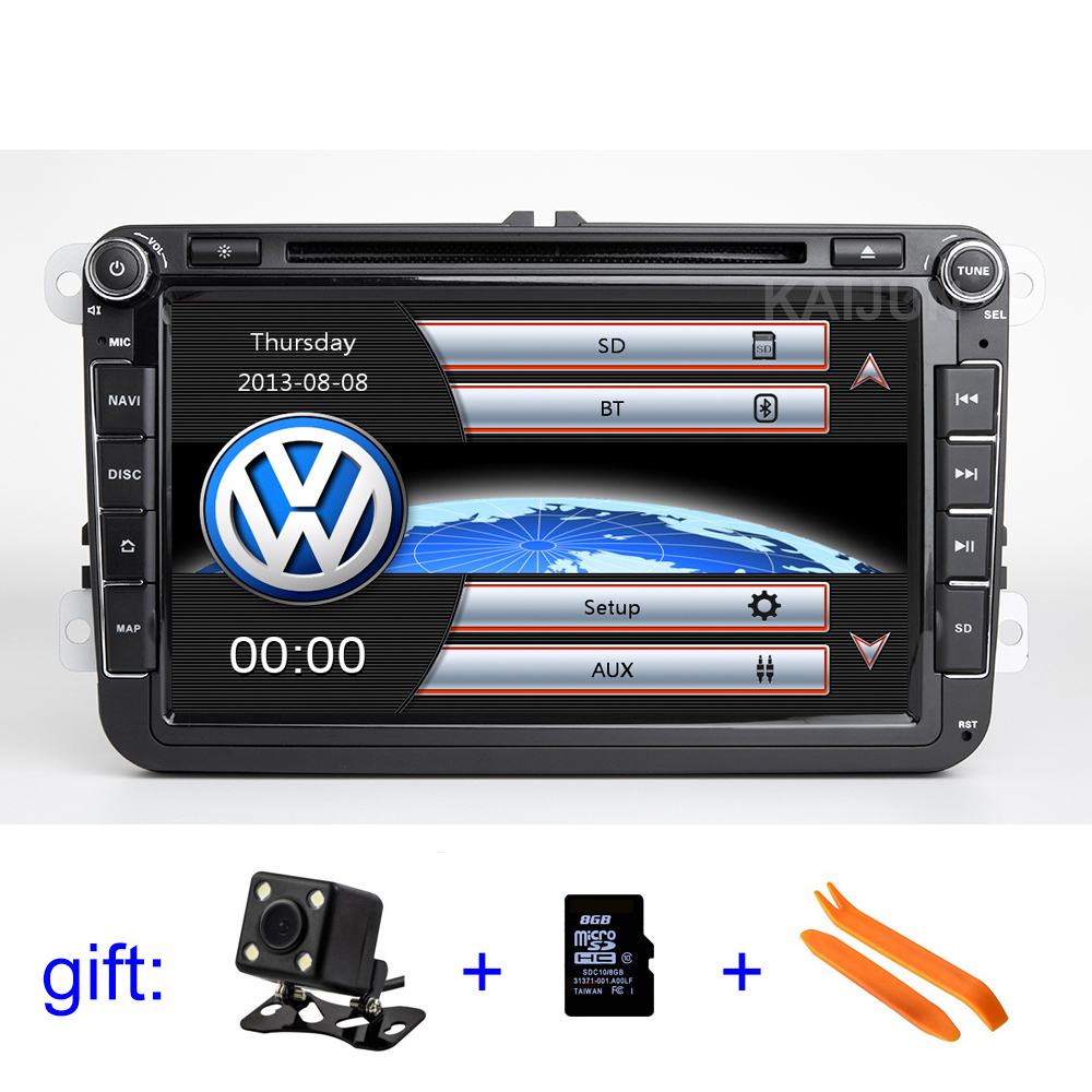 8 inch Car DVD stereo Player Radio GPS for VW Golf Polo Tiguan Passat b7 b6