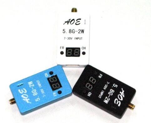 FPV TS933 5.8G 2000W 2W 32CH Wirless Audio Video AV Transmitter Tx with Aluminum Case for Multicopter free shipping tx600 5 8g 600mw fpv transmitter video tx av 32ch video for for dji phantom 2