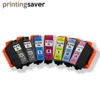 7PCS 378XL 378 Compatible Cartridge For Epson Expression E378XL Photo XP-8500 XP-8505 XP-15000 printer