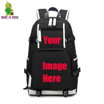 moon wood high quality canvas printed heart yellow backpack korean style students travel bag girls school bag laptop backpack Customize Your Image Backpack Anime Star Printed Canvas Backpack Large Travel Shoulder Bag Teens Students School Laptop Bags