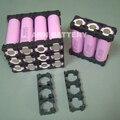 Li-ion 18650 bateria 3 P titular titular caixa de plástico de 18650 células de iões de lítio baterias cilíndricas