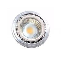 COB AR111 זרקור LED אמיתי AC12V 12 W אורות מקום הנורה מנורת הלוגן 144 W שווה ערך 1320lm טבע חם טהור לבן 20 יח'\אריזה