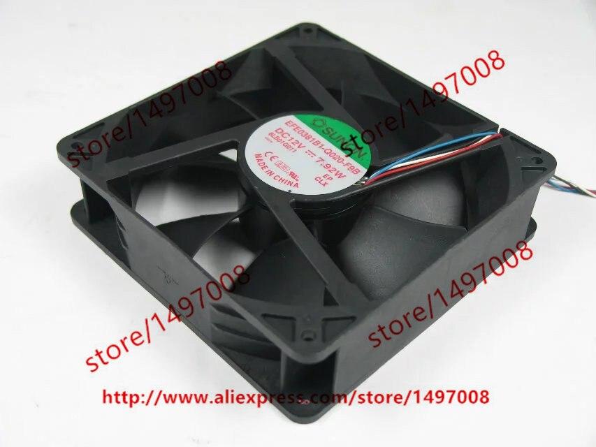 SUNON EFE0381B1-Q020-F9B DC 12V 7.92W 140x140x38mm сервера Square Fan