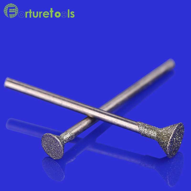 50 stks diamant gemonteerde punt dremel roterende gereedschap - Schurende gereedschappen - Foto 3