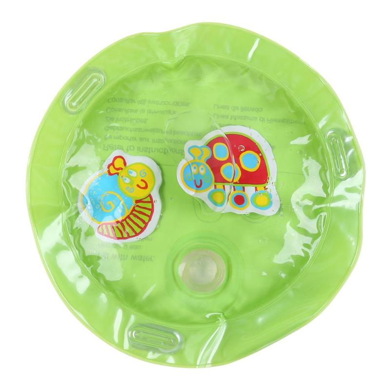 HTB1jzN6SzDpK1RjSZFrq6y78VXaZ Baby Inflatable Water Play Mat Infant Gym Playmat Kids Thicken PVC Creative Dual Use Patted Pad Toy Toddler Funny Cushion Toy