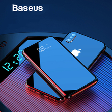 Baseus 8000mAh Qi Wireless Charger Power Bank For iPhone Sam