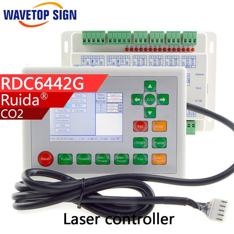все цены на RDC 6442G Ruida RDC6442G CO2 laser Control Card DSP controller+DC24V Co2 Laser Controller laser cutter & laser engraving machine онлайн