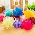2 pçs/set grande banho de cor bola esponja de banho flor banho de bola toalha produtos de limpeza do banheiro transmissão intrafamiliar