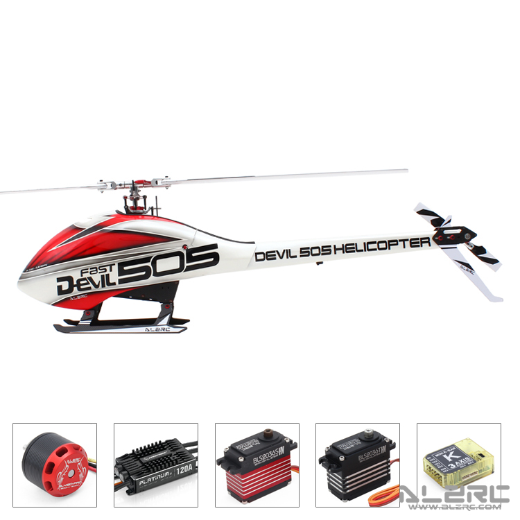купить ALZRC - Devil 505 Helicopter FAST FBL Super Combo - B по цене 50997.45 рублей