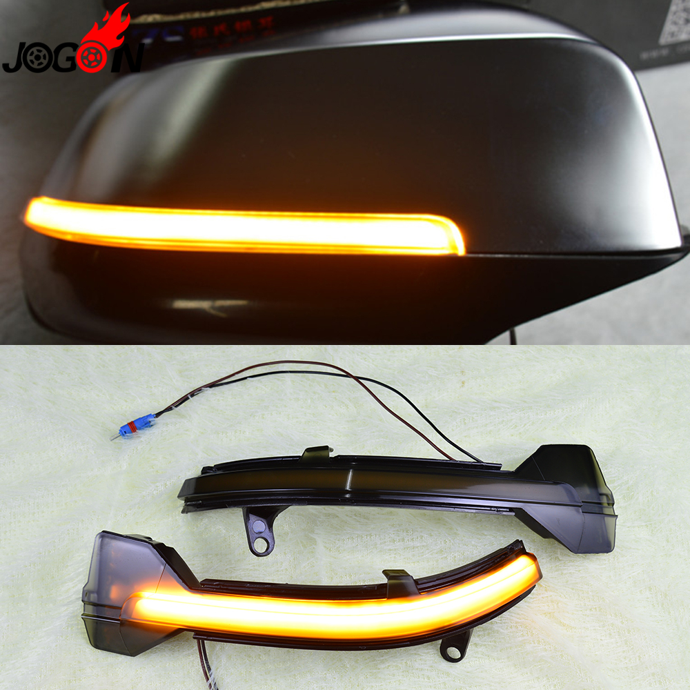 For BMW 5 Series F10 F11 F07 6 7 Series F06 F12 F13 F01 F02 Rearview Mirror Indicator Blinker Repeater Light Dynamic Turn Signal цена