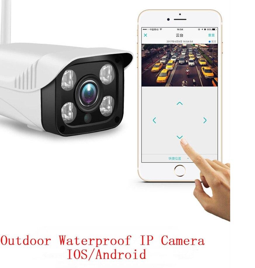 SmartYIBA 720 P caméra IP 360 degrés CCTV caméra APP contrôle WIFI caméra extérieure 1MP étanche intelligent caméra de sécurité interphone