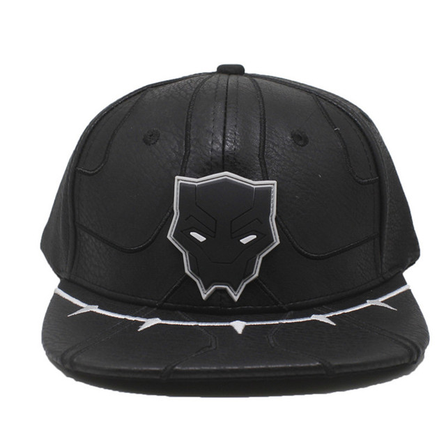 717e3324cea 1pcs New Black Panther Cosplay Hats Suit up Adjustable Snapback Baseball  Caps Hip Hop Hat Unisex Cosplay Accessories Gifts