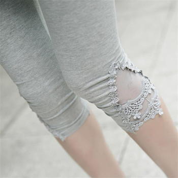 Triangle Lace Leggings Hollow Out Design 1