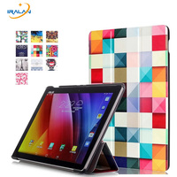Hot Painting Magnet Folio Slim Leather Stand Case For Asus Zenpad 3S 10 Z500M 9 7