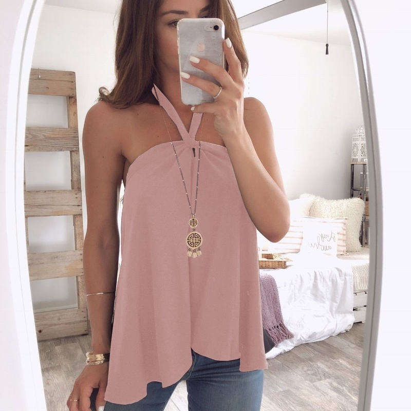 ZOGAA Sexy Women Halter White Lace Blouse Shirt Fashion Off Shoulder Top Blouses Summer Hollow Out Flare Sleeve Tops
